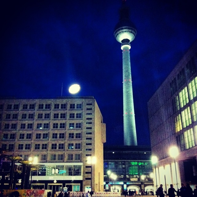 There are tons of evening German courses in Berlin near Alexaderplatz!
