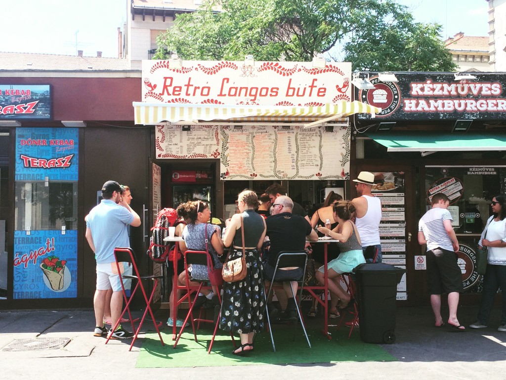 For a Budapest langos, hit up Retro Bufe