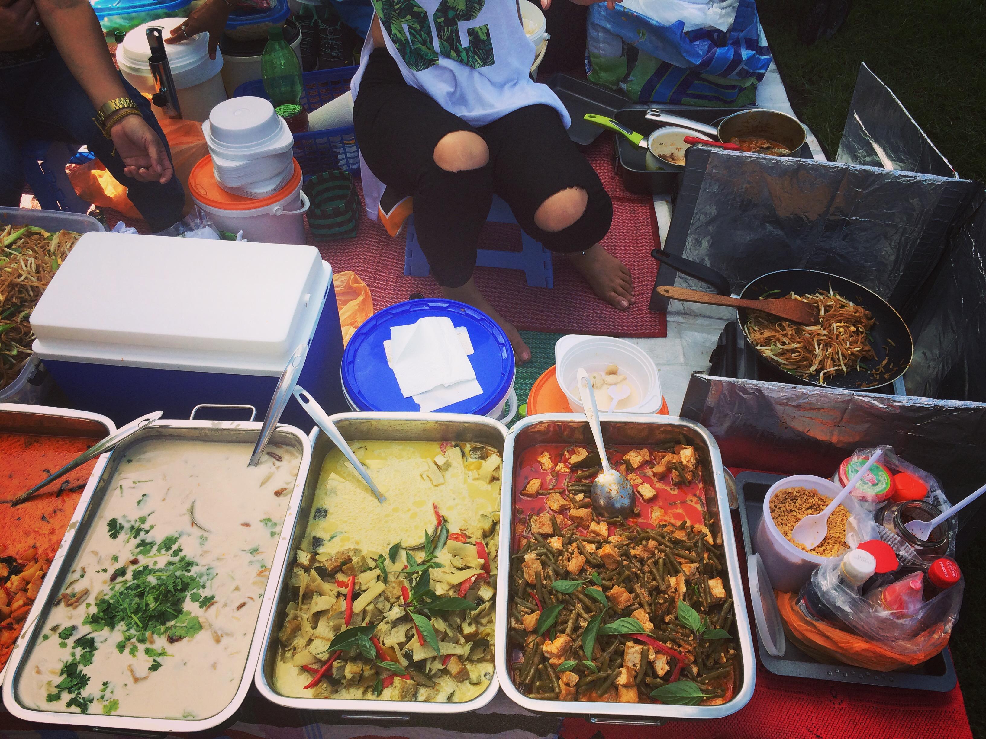 Thai Park Berlin - Getting the pad thai ready