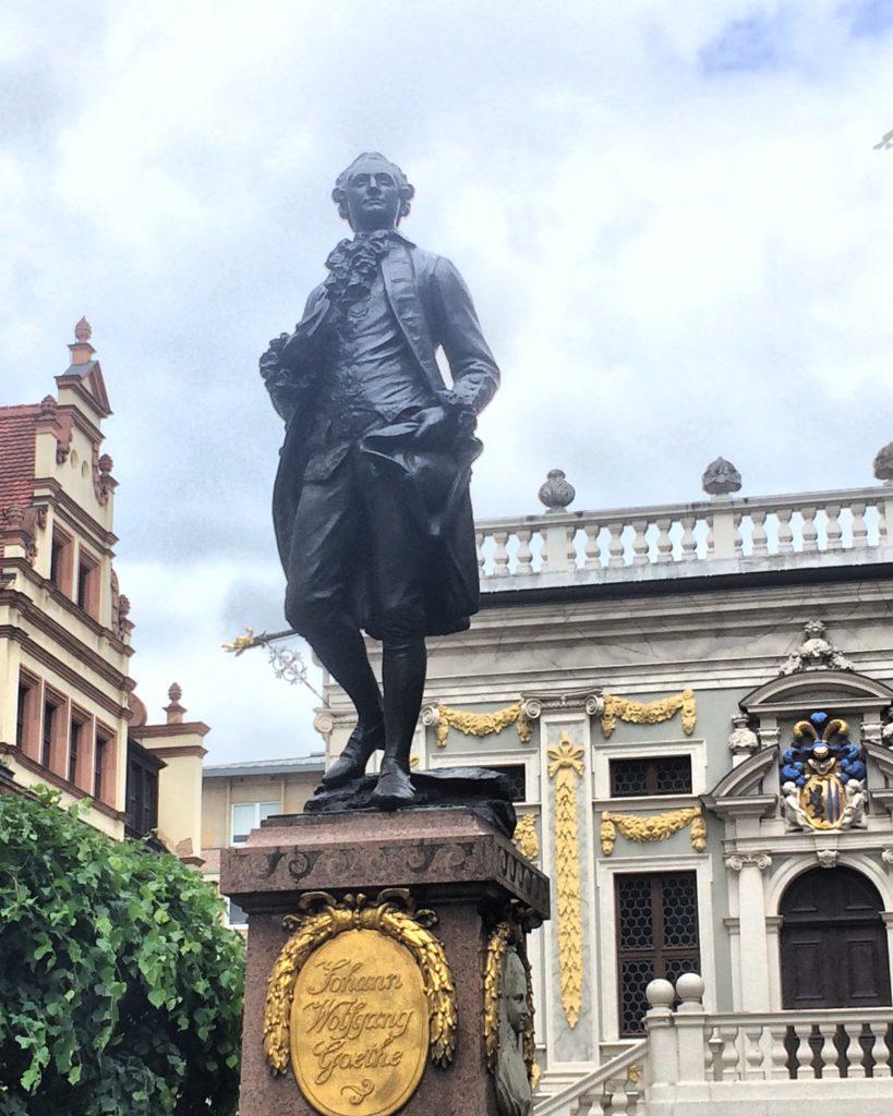 Goethe Denkmal in Leipzig