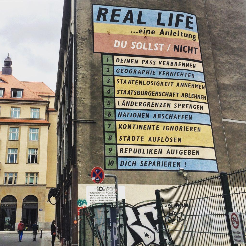 Street art in Leipzig