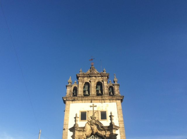 One of the many churches in Braga